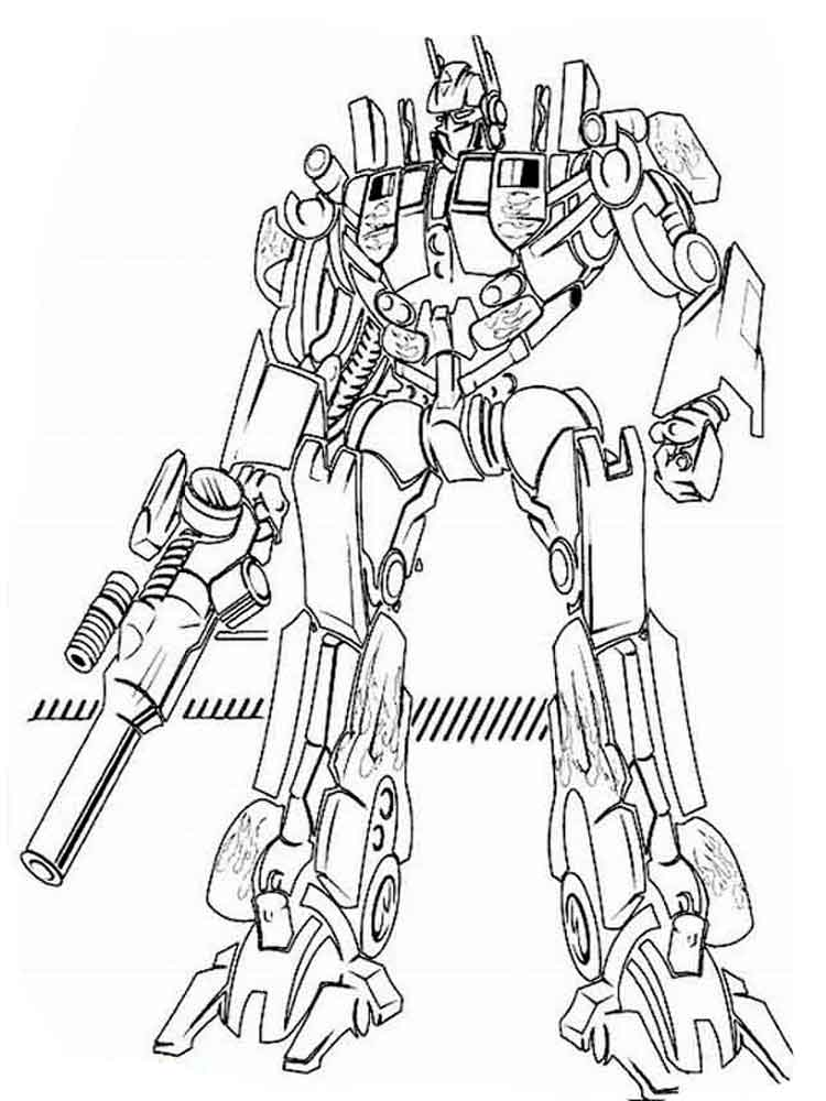 Transformers Coloring Pages. Download And Print Transformers Coloring Pages