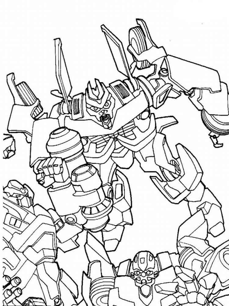 Transformers coloring pages Download