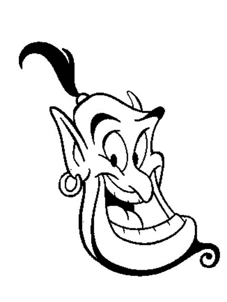Aladdin Coloring Pages Download And Print Aladdin