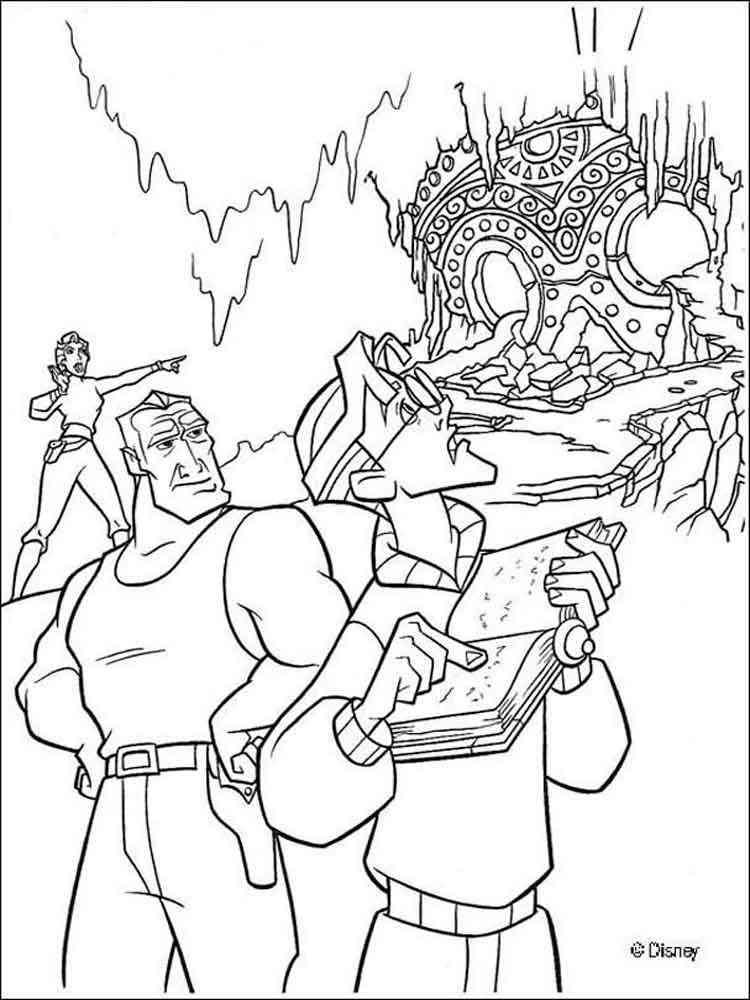 Atlantis coloring pages. Download and print Atlantis ...
