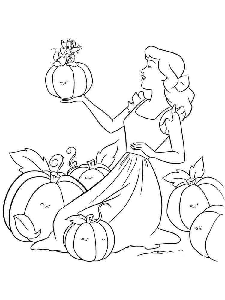 cinderella coloring pages - Cinderella Coloring Book