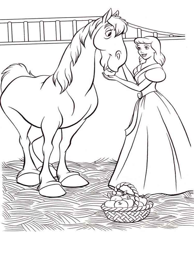 Cinderella Coloring Pages Download And Print Cinderella Coloring Pages