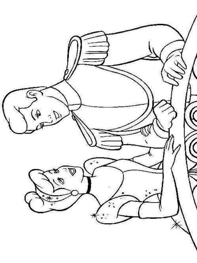 Cinderella coloring pages Download