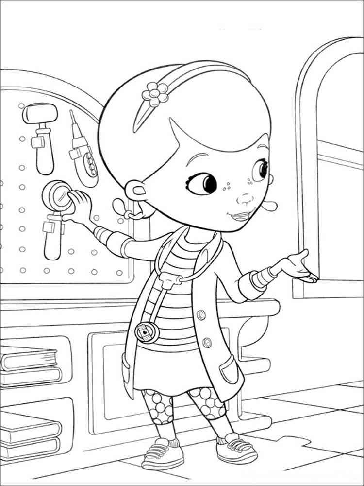 Doc Mcstuffins Coloring Pages 11