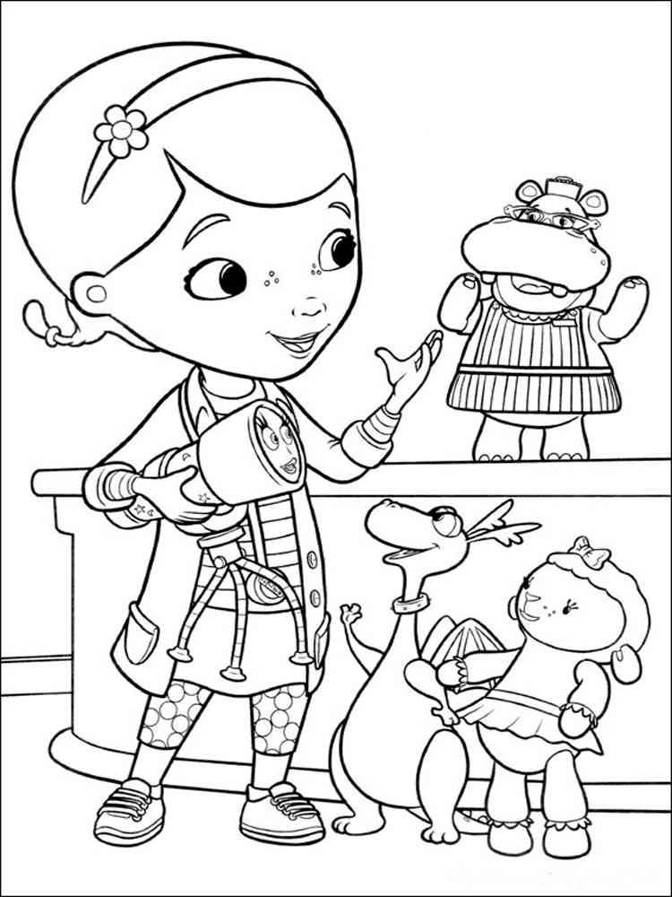 Doc McStuffins coloring pages. Free Printable Doc ...