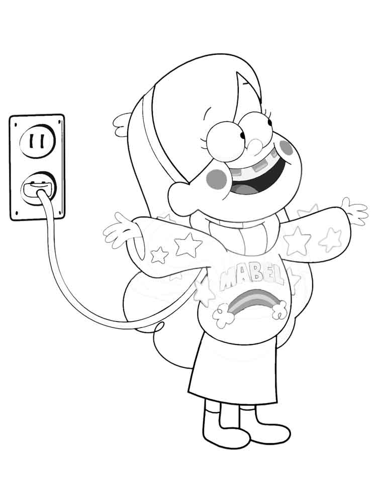 disney xd coloring pages | Disney Xd Gravity Falls Coloring Pages Coloring Pages
