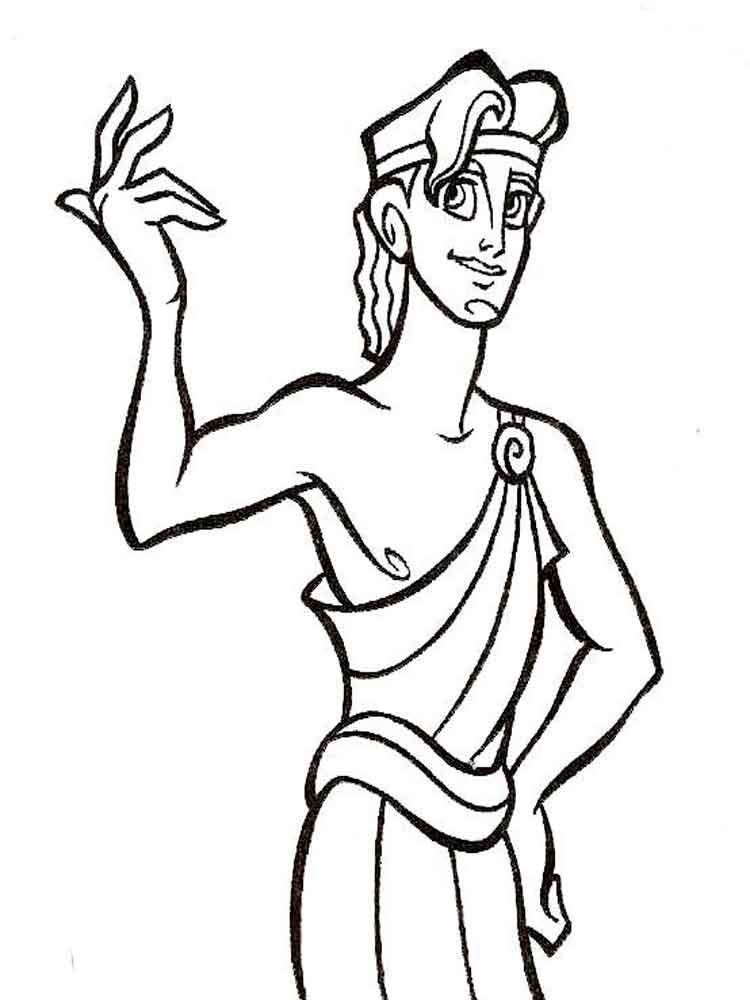Hercules coloring pages Download