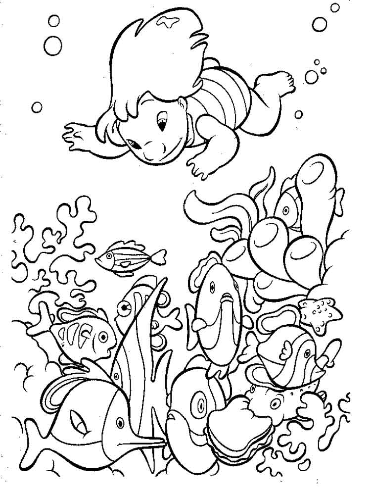 Lilo And Stitch Coloring Pages 12
