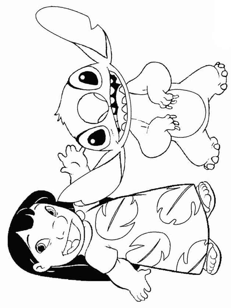 Lilo and Stitch coloring pages. Download and print Lilo ...