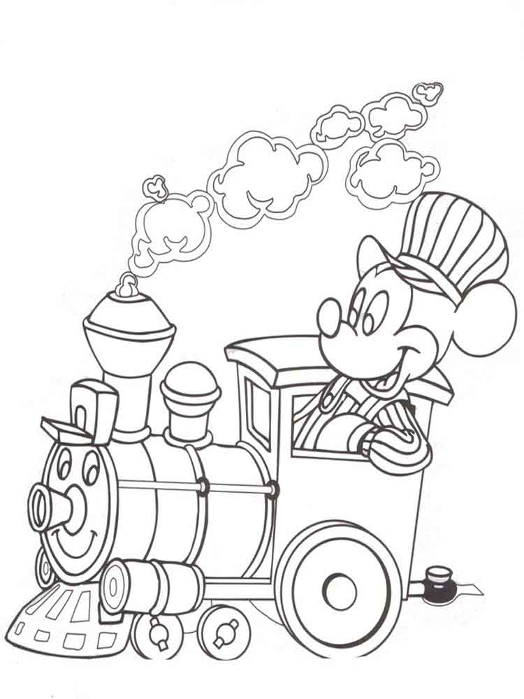 mickey and minnie mouse coloring pages 15 - Minnie Mouse Coloring Pages Disney