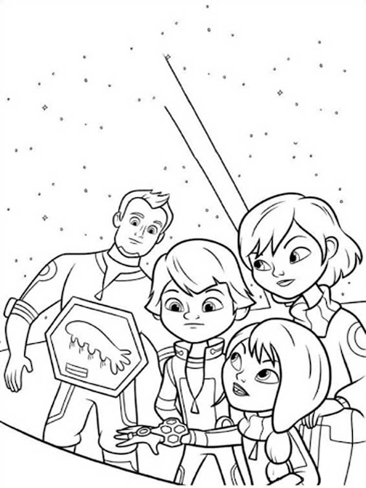 Free Miles From Tomorrowland Coloring Pages Download And Print Miles From Tomorrowland Coloring Pages