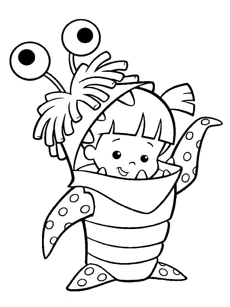 monster inc coloring pages 10