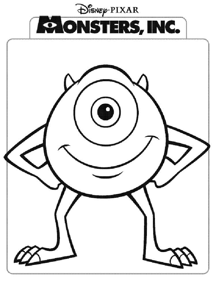 monster inc coloring pages 17