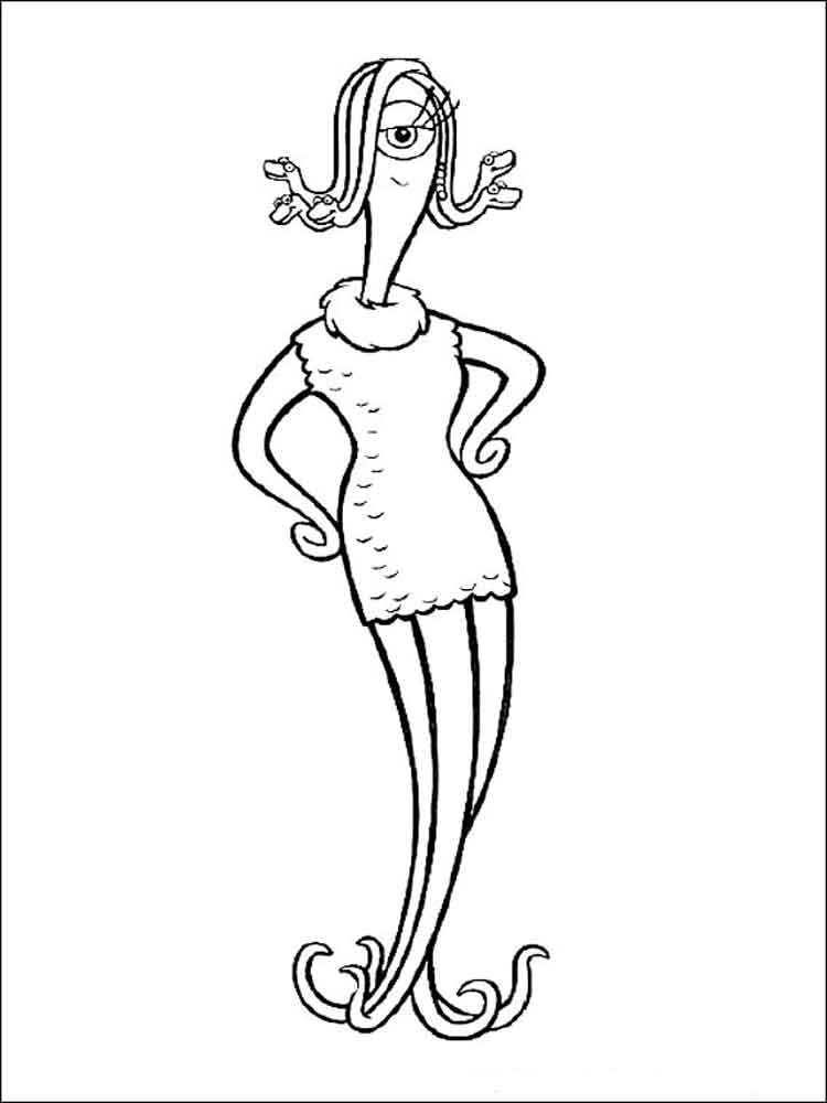 Monsters Inc Coloring Pages Download And Print Monsters Inc Coloring Pages