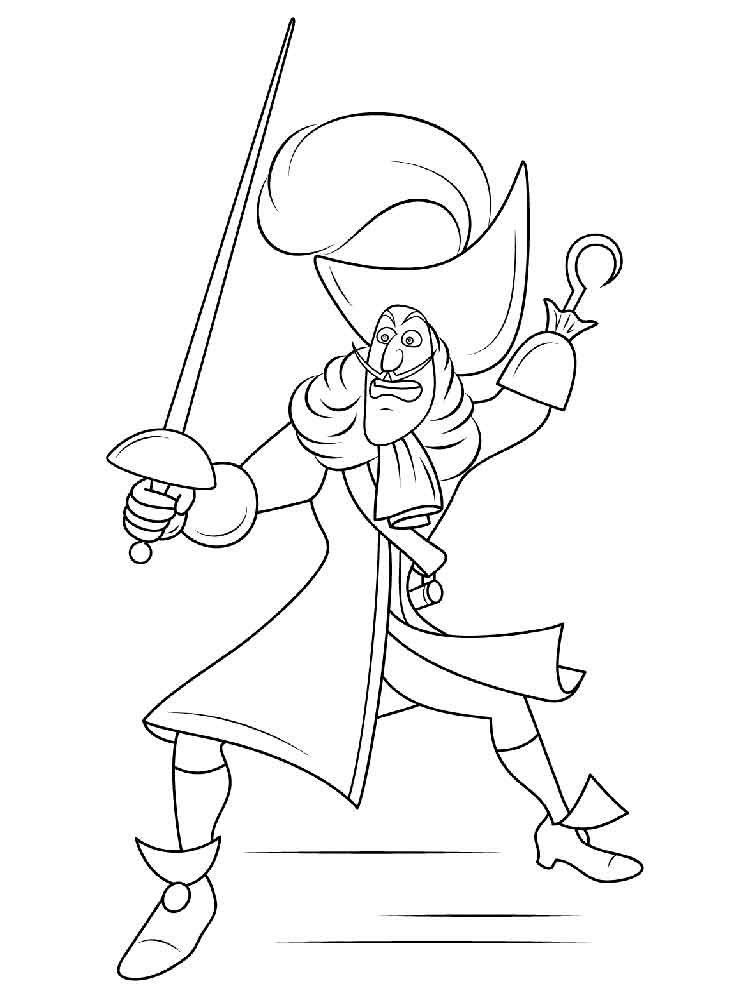 Peter Pan coloring pages. Download and print Peter Pan ...