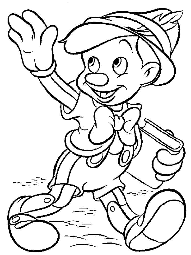 Pinocchio Coloring Pages Download And Print Pinocchio
