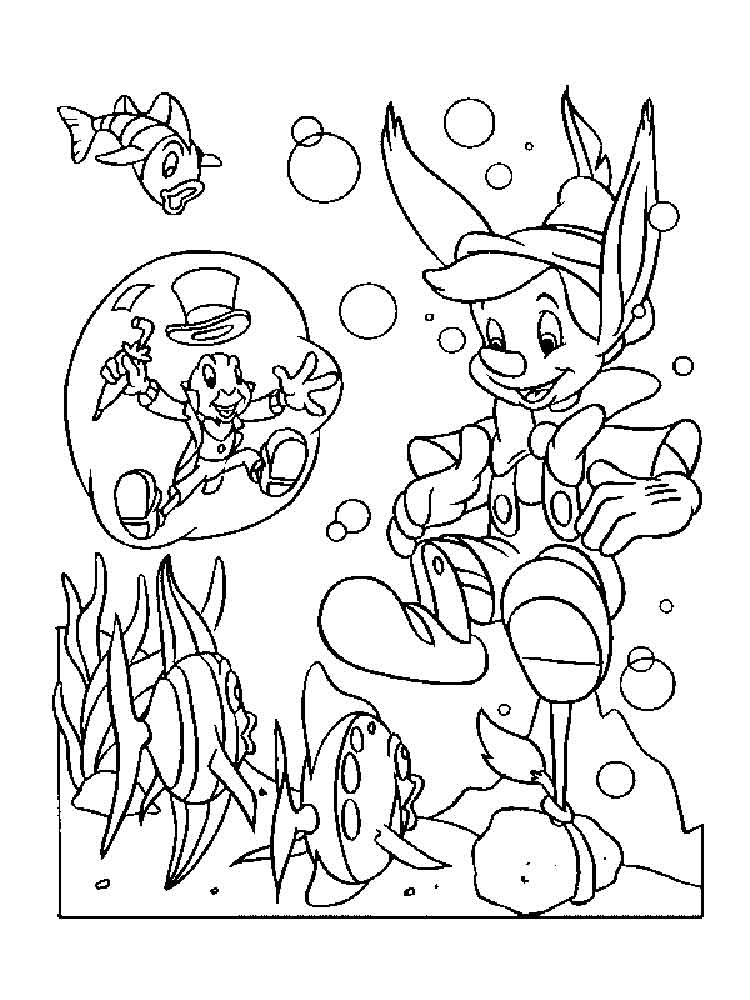 pinocchio coloring pages - pinocchio coloring pages download and print pinocchio