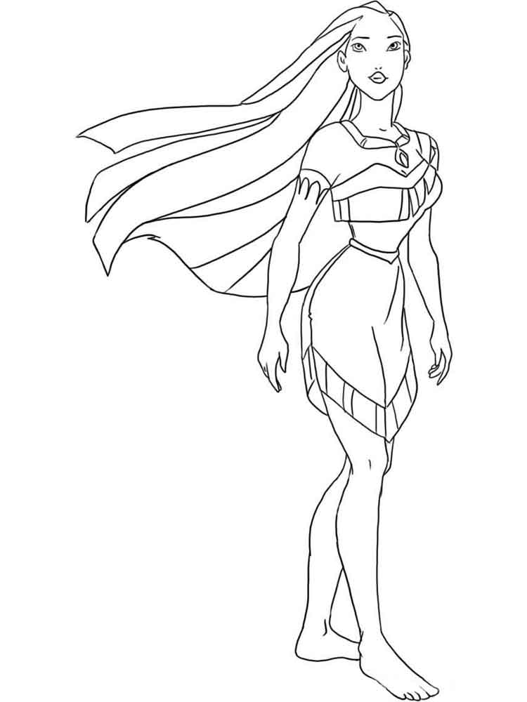Pocahontas Coloring Pages Download And Print Pocahontas