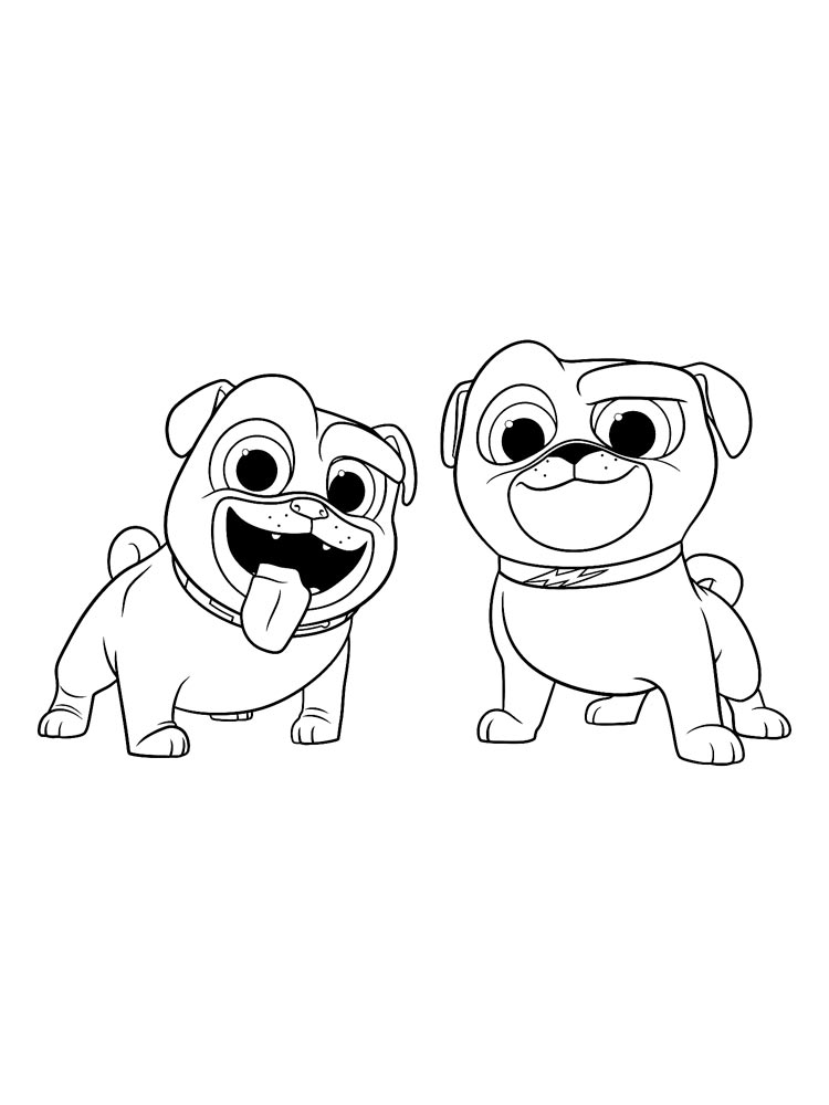 Puppy Dog Pals Coloring Pages Download And Print Puppy Dog Pals Coloring Pages