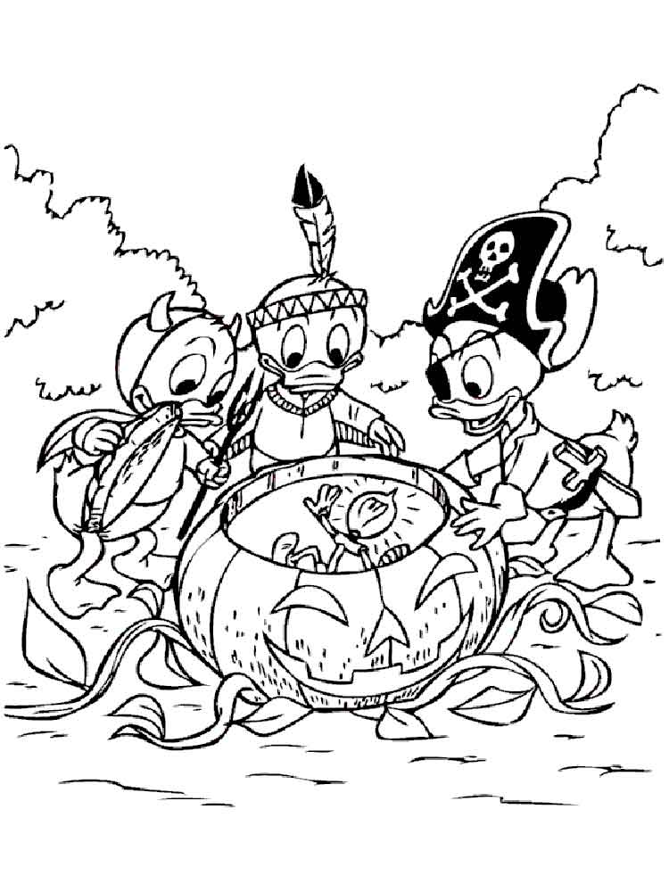 Scrooge McDuck Coloring Pages Download And Print Scrooge