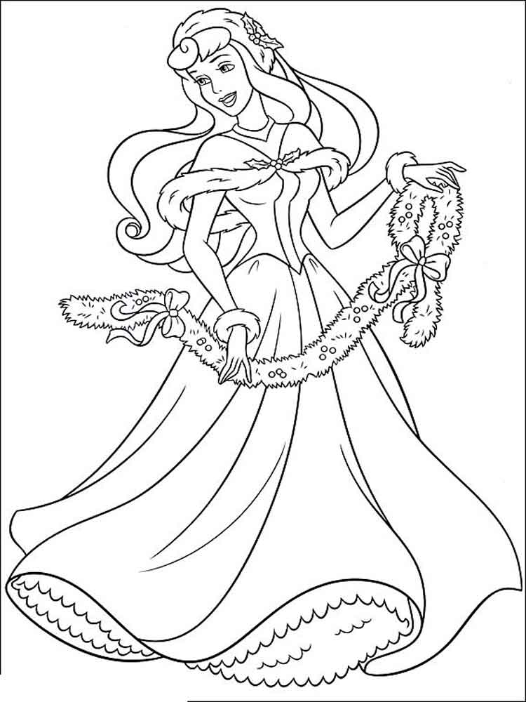 sleeping beauty coloring pages 15
