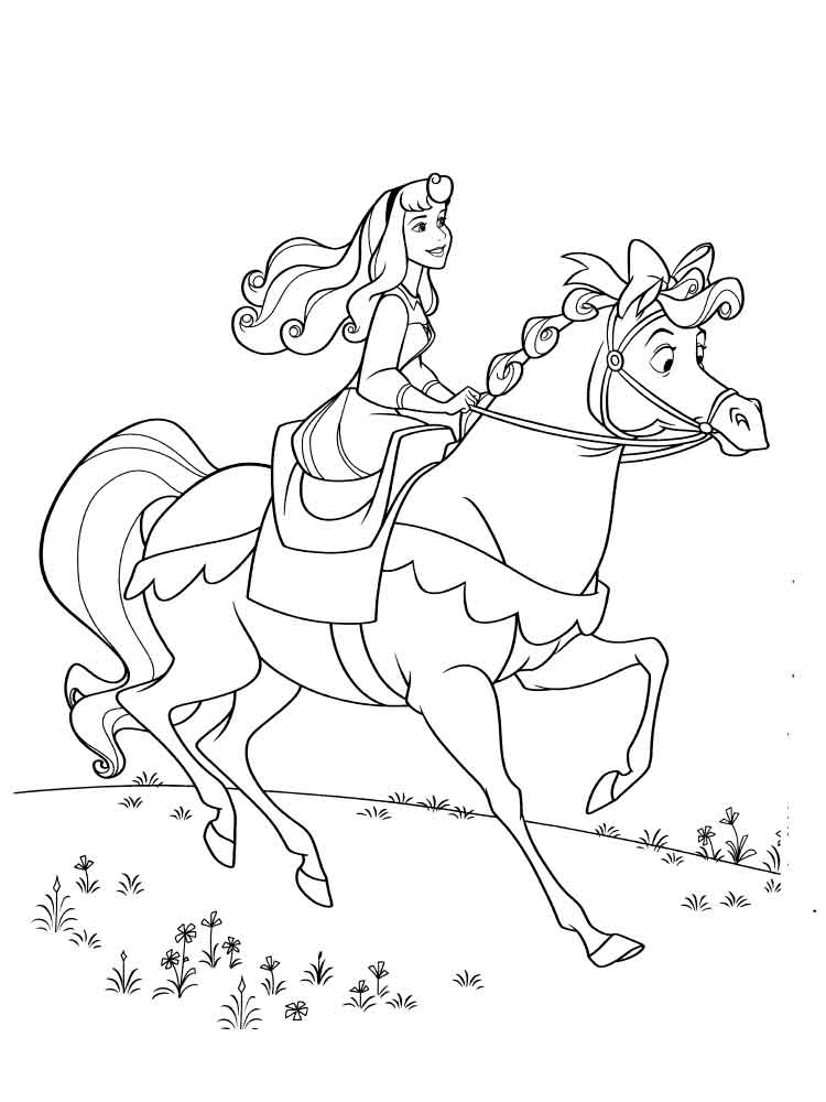 Sleeping beauty coloring pages download and print for Sleeping coloring page