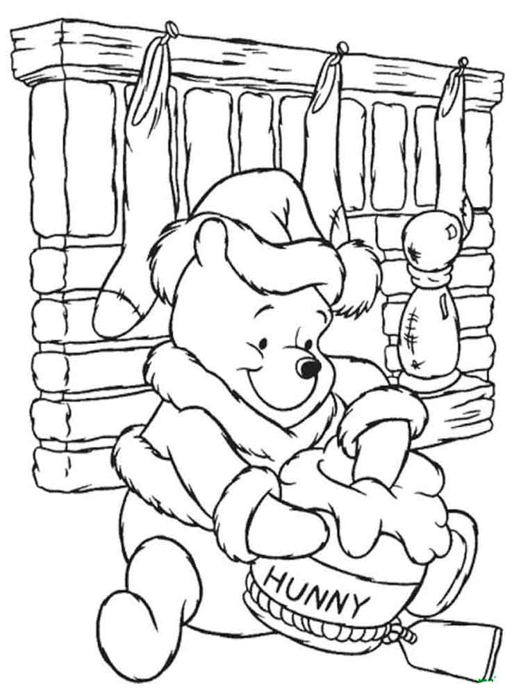Winnie The Pooh Coloring Pages. Download And Print Winnie The Pooh Coloring  Pages