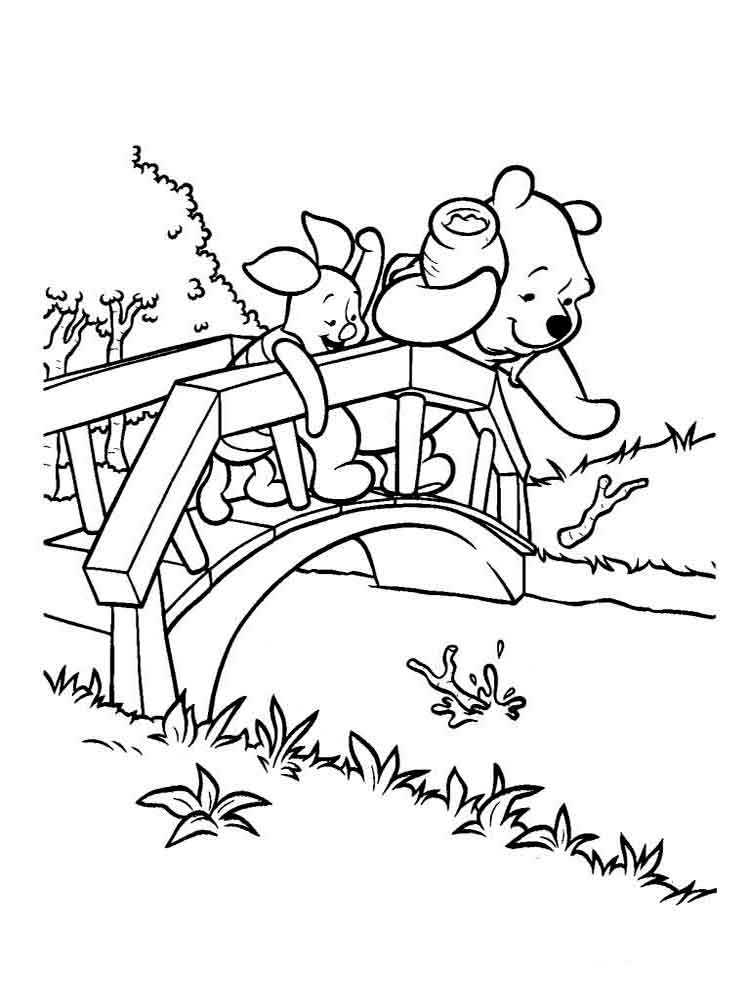 coloring book ~ Winnie The Pooh Printable Coloring Pages Book At ... | 1000x750