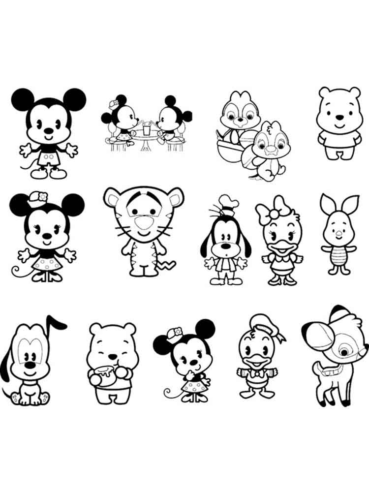 Baby Disney coloring pages. Free PrintableBaby Disney ...