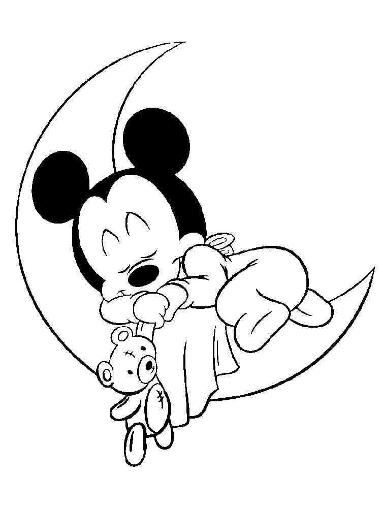 Baby Disney coloring pages. Free PrintableBaby Disney coloring pages.