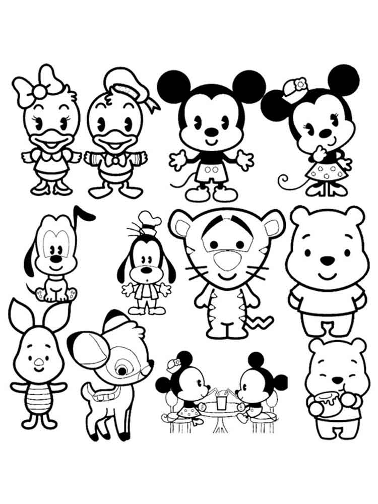 Disney Coloring Pages Cute Coloring Pages