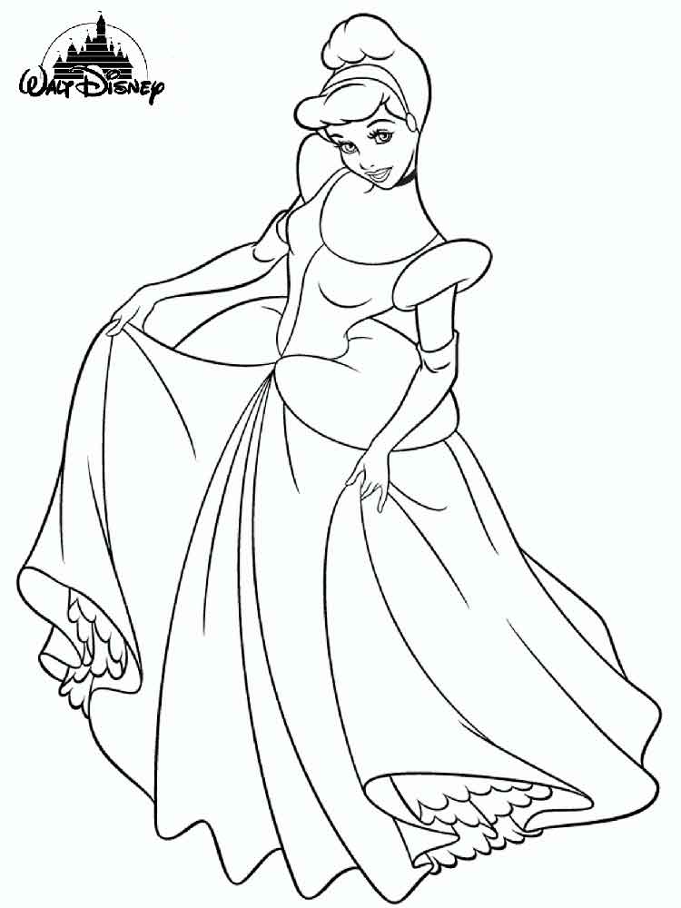 Disney princess coloring pages to print. Free Disney ...
