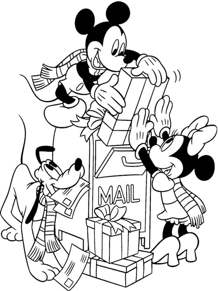 Mickey Mouse clubhouse coloring pages for kids. Free ...