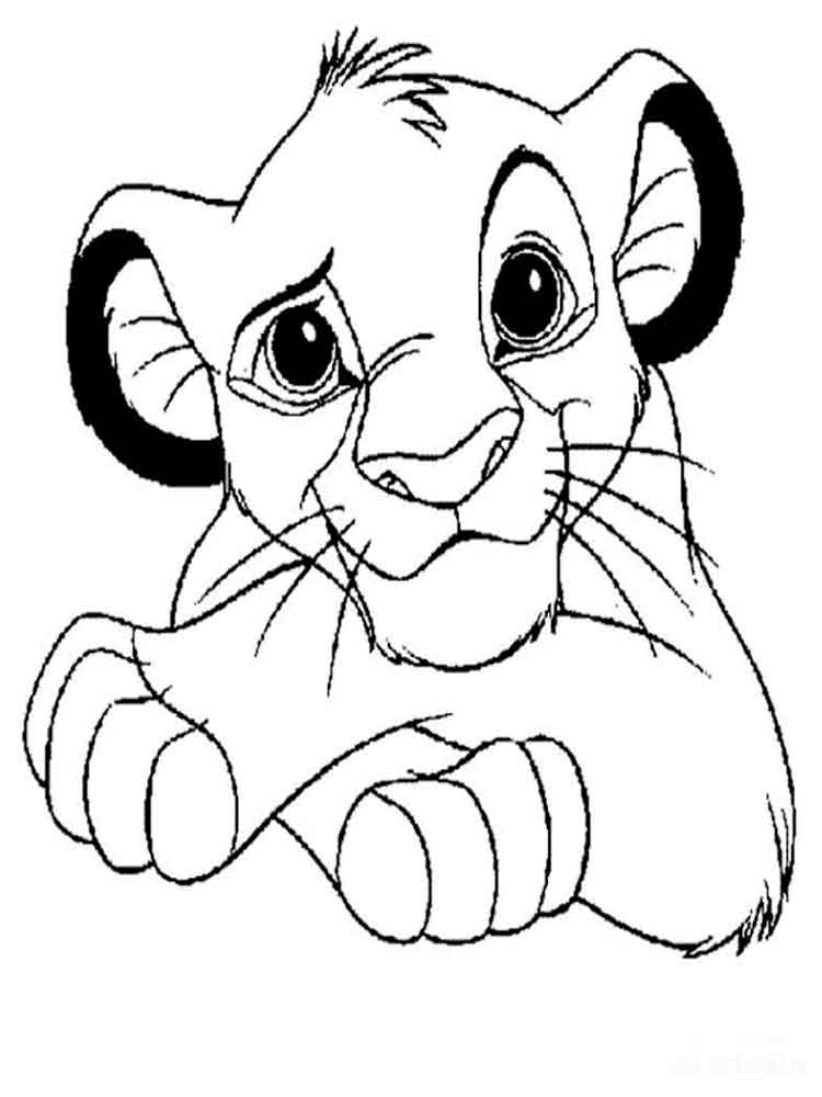 The Lion King coloring pages Download and print The Lion King