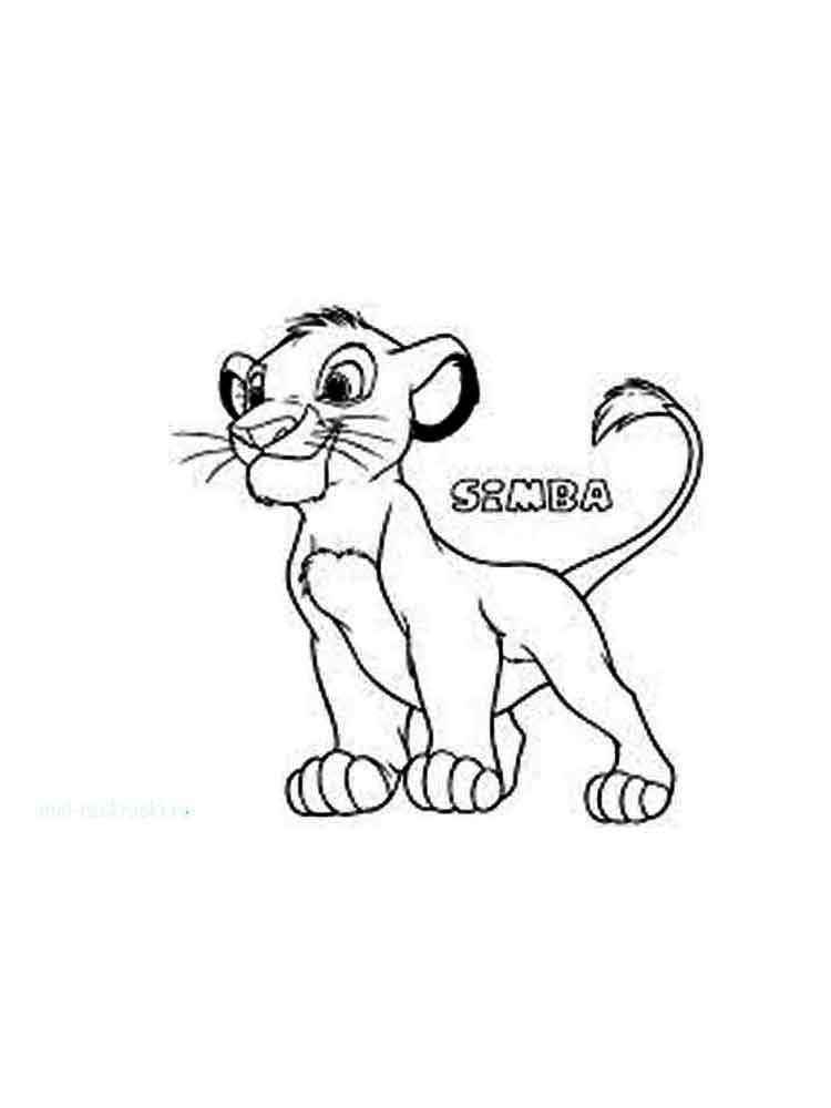 The lion king coloring pages download and print the lion for Lion king christmas coloring pages