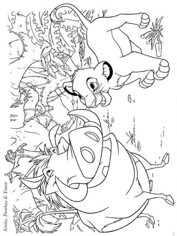 The Lion King coloring pages. Download and print The Lion ...