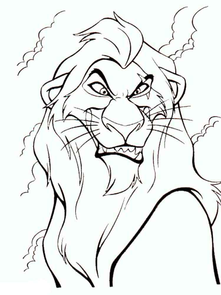 The Lion King coloring pages Download