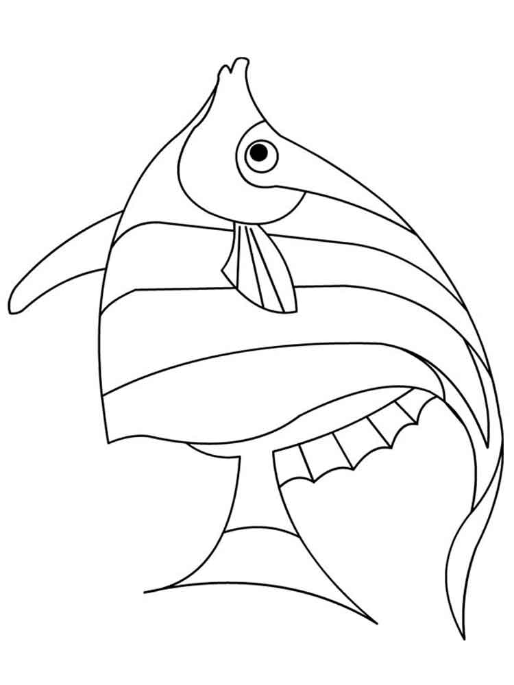Angelfish Coloring Page - Ultra Coloring Pages | 1000x750
