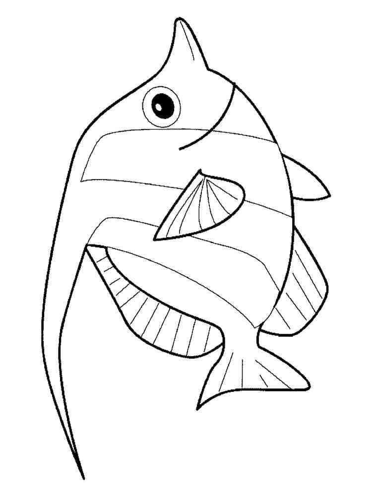 Aquarium Fish coloring pages. Download and print Aquarium ...