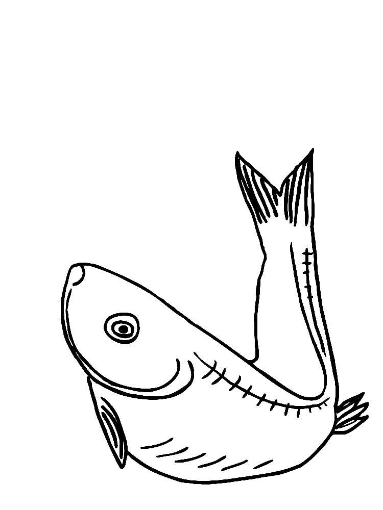 Herring coloring pages Download