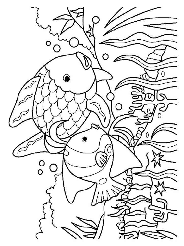 Underwater World coloring pages. Download and print ...