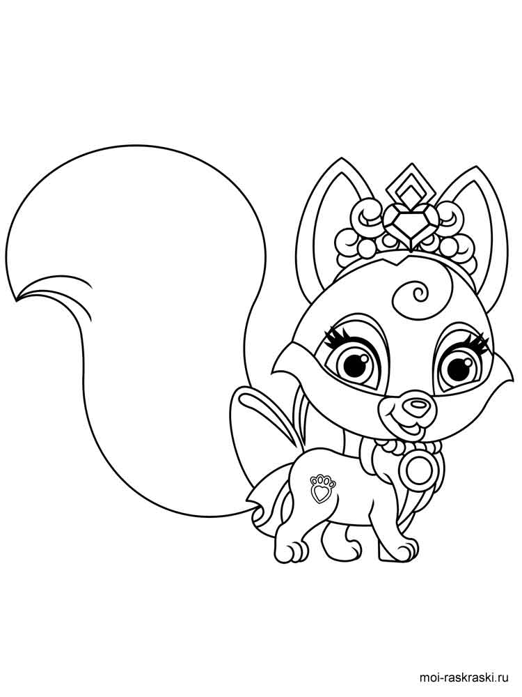 - Disney Palace Pets Coloring Pages. Download And Print Disney Palace Pets  Coloring Pages