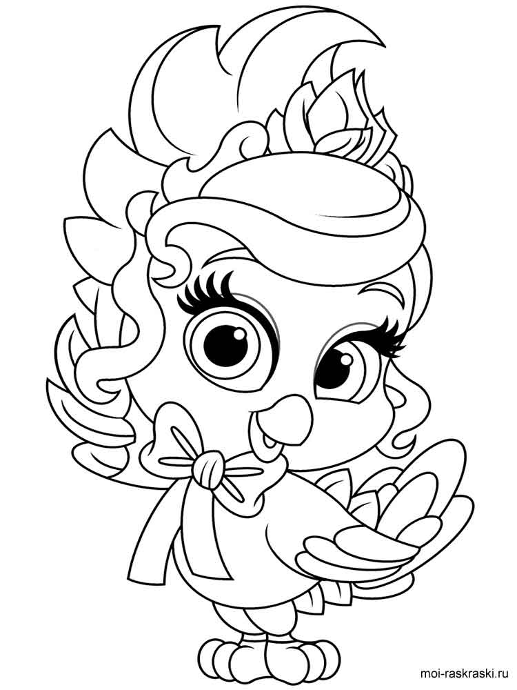 Palace Pets Coloring Pages Www.robertdee.org