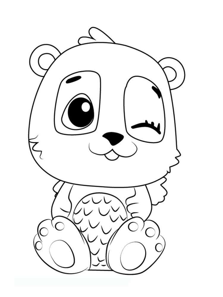 Hatchimals Coloring Pages. Download And Print Hatchimals Coloring Pages