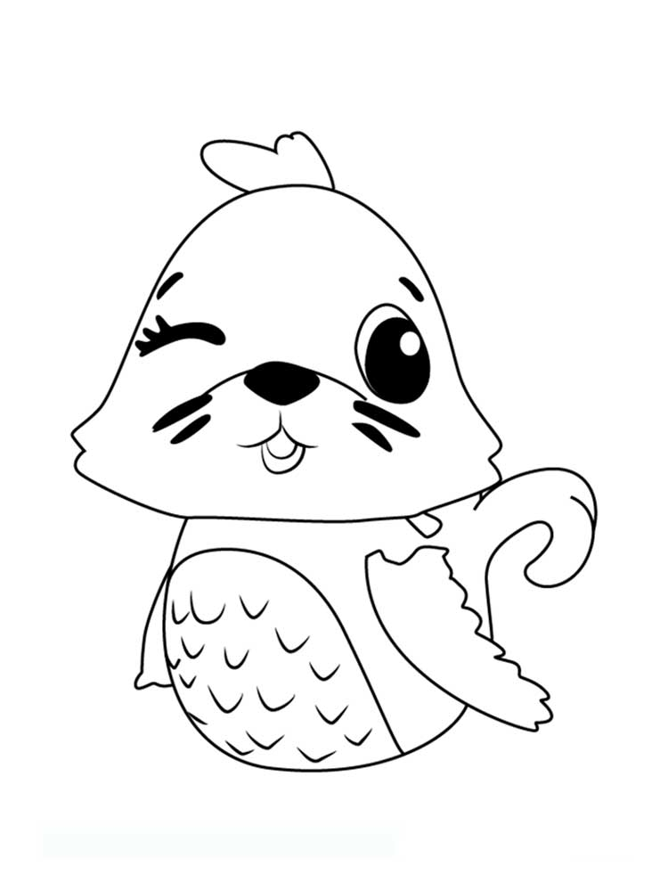 Hatchimals coloring pages. Download and print Hatchimals ...