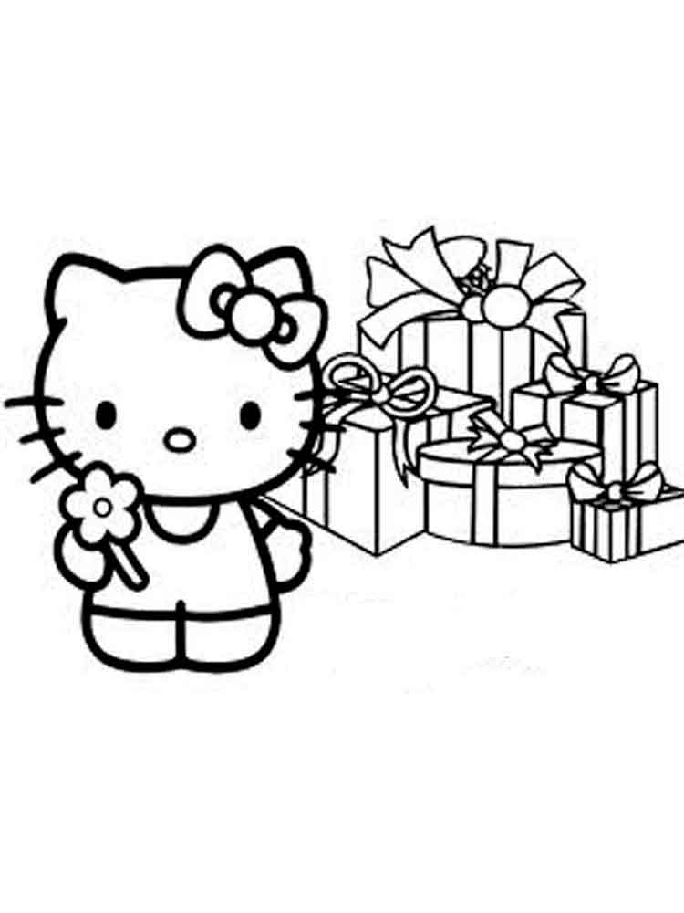Hello Kitty coloring pages. Download and print Hello Kitty coloring ...