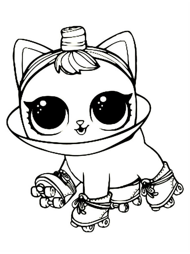 free lol surprise pets coloring pages download and print