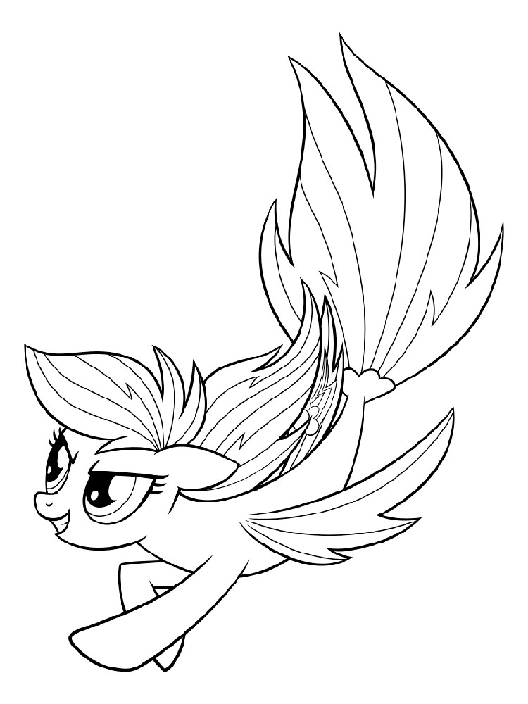 My Little Pony Mermaid Coloring Pages Download And Print