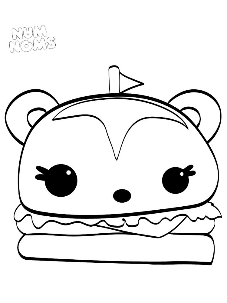 - Num Noms Coloring Pages. Download And Print Num Noms Coloring Pages
