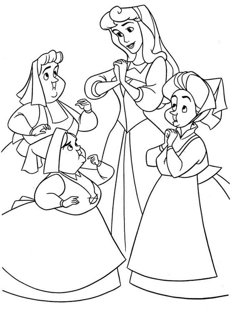 Free Sleeping Beauty Coloring Pages Gallery Of Princes Coloring